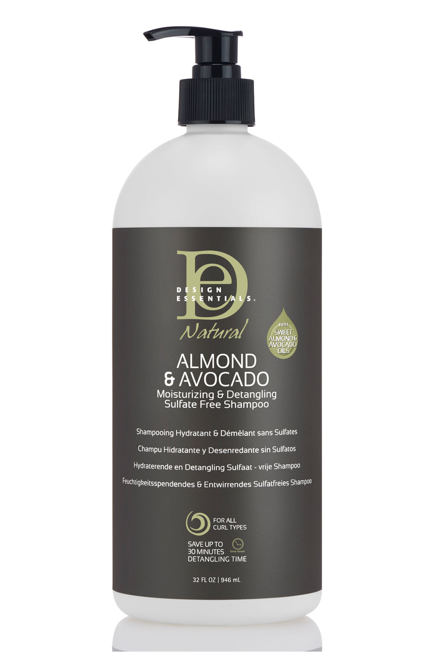 Design Essentials Natural Almond Avocado Sulfate Free Shampoo