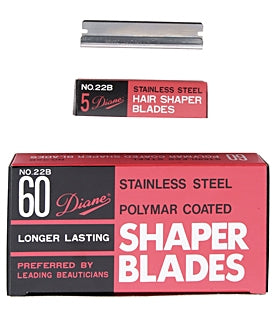 Diane Polymar Coated Shaper Blades 60 Pack
