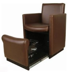 Collins 2550 Club-Pedi Cigno Plumb Free Pedicure Spa