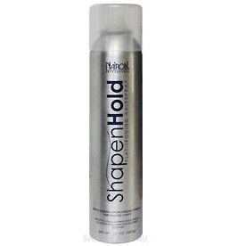 Nairobi Shape n Hold Flat Ironing Hairspray 10oz