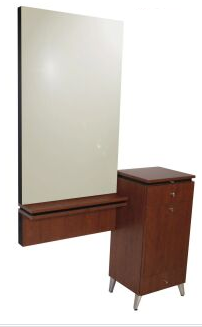 Collins 4405-48 NEO Styling Station w/ Ledge  Frame and Mirror