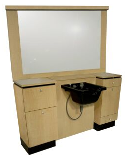 Collins 4425-72 NEO Barber Wet Booth Unit