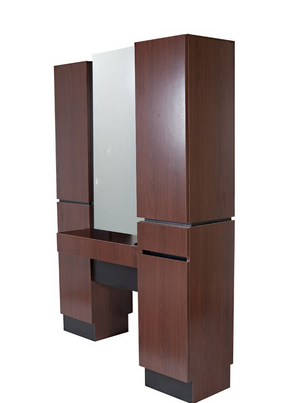 Collins 471-63 Reve Back-to-Back Tower Styling Island