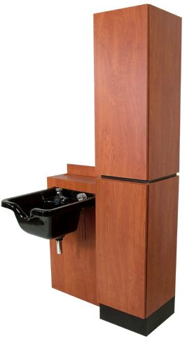 Collins 474-48 Reve Tower Side-Wash Shampoo Station