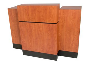 Collins 492-60 Reve Reception Desk