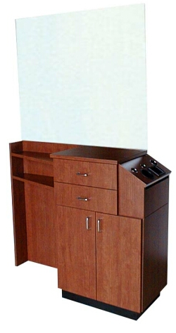 Collins 4514-48 QSE Deluxe 39Hi Styling Station
