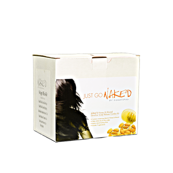 Naked Honey & Almond Sensitive Scalp Relaxer Kit