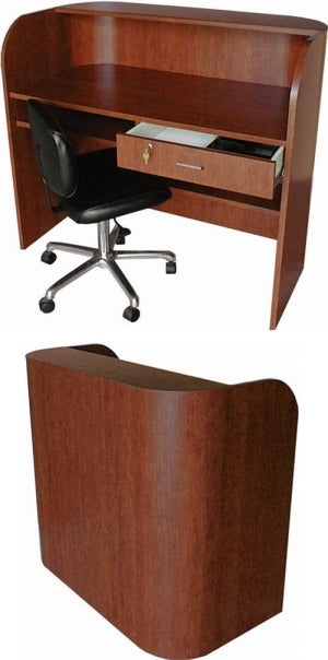 Collins Deluxe Radius Front Reception Desk 5519-48