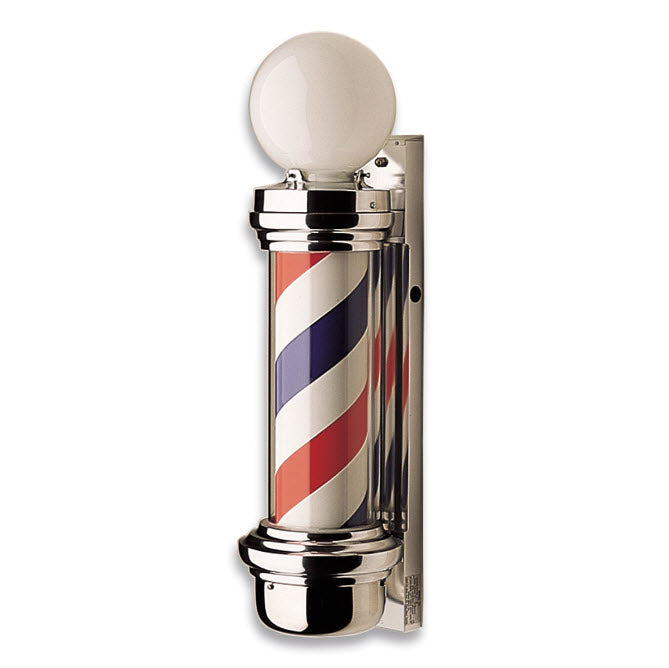 Marvy 55 Two Light Barber Pole