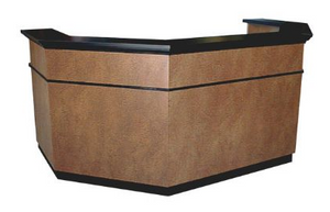 Collins 577-96 Heritage Reception Desk