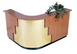 Collins 612-120 Valencia Reception Desk