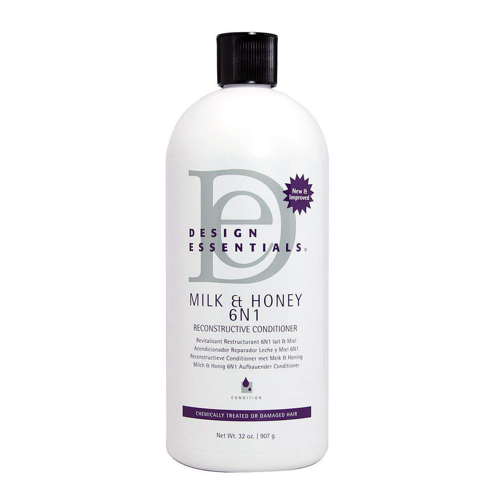 Design Essentials Milk & Honey 6 N 1 Reconstructive Conditioner 32oz