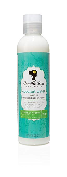 Camille Rose Naturals Coconut Water Leave-In Treatment 8oz