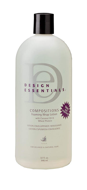 Design Essentials Compositions Foaming Wrap Lotion
