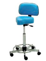 Pibbs 722 Bike Seat Stool w/ Backrest