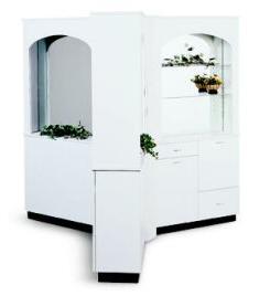 Collins 733-40 Archways Tri-Station