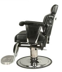 Collins 9015 Continental Barber Chair w/ Kick Out Legrest