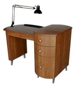 Collins 905-48 Cambridge Manicure Table