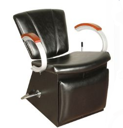 Collins 9751L Vanelle SA Shampoo Chair Lever Control w/ Kick Out Footrest