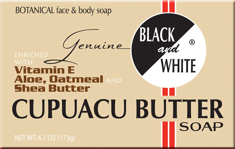 Black & White Cupuacu Butter Soap 6.1oz