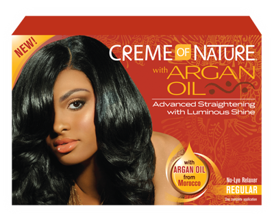 Creme of Nature Argan Oil Relaxer Super 1 Application