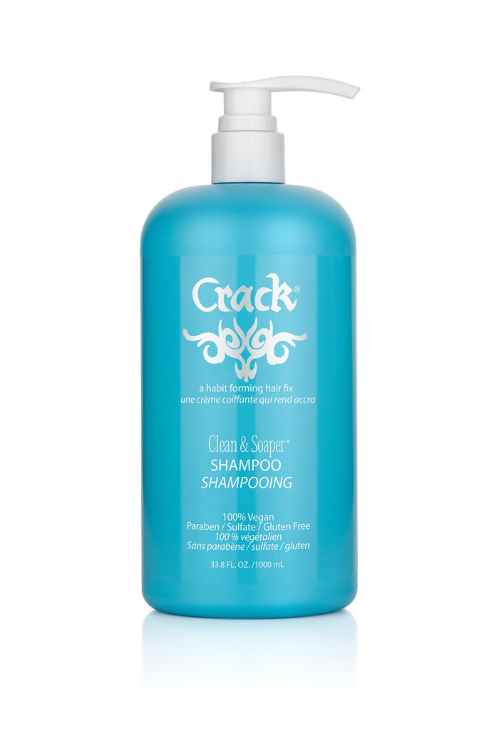 Crack Hair Fix Clean & Soaper Shampoo 33.8oz