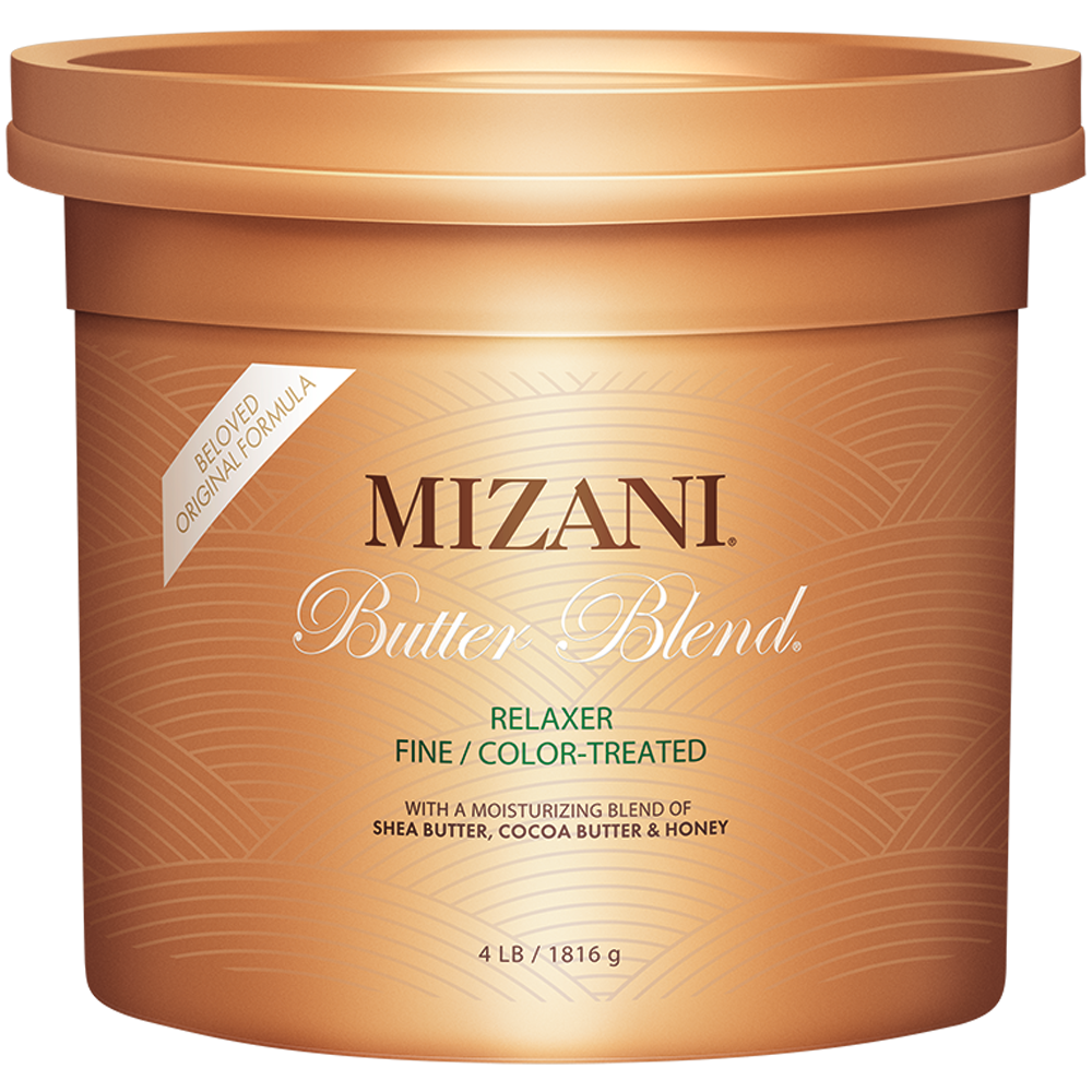 Mizani Butter Blend Rhelaxer Original Formula Fine/ Color-Treated Relaxer 4lb
