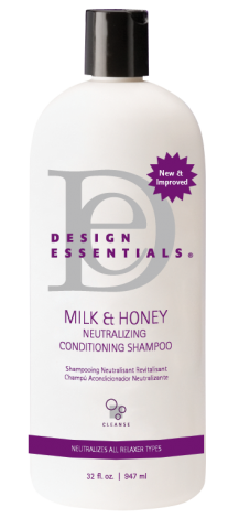 Design Essentials Milk & Honey Neutralizing Conditioning Shampoo