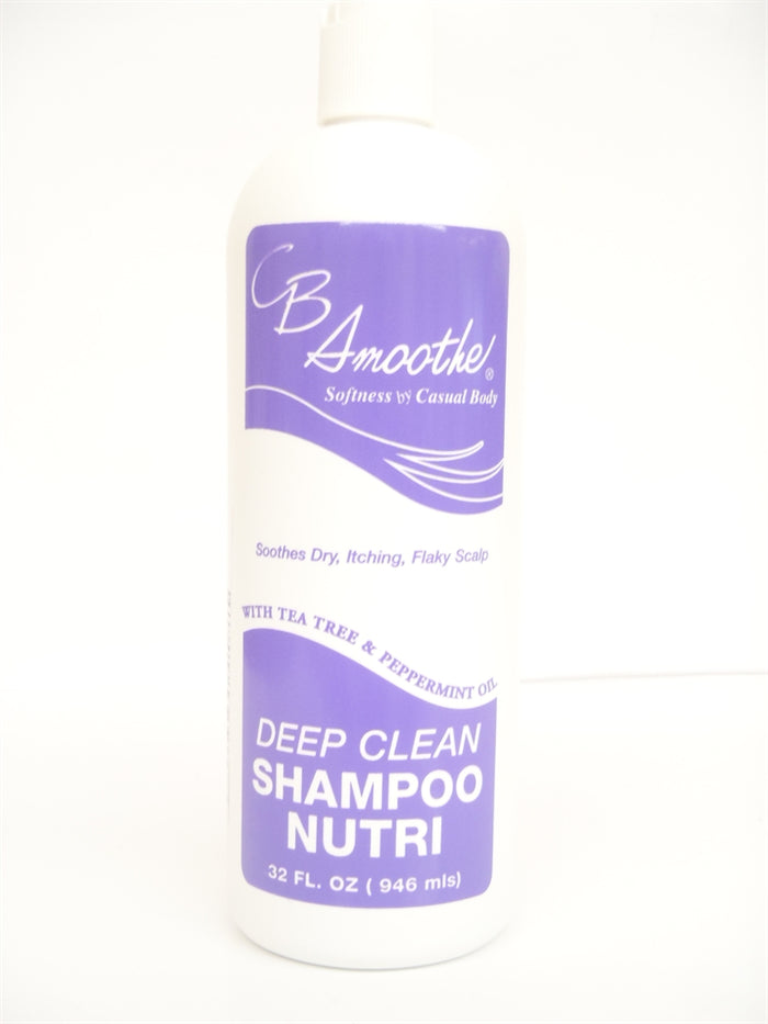 CB Smoothe Deep Clean Shampoo Nutri 32oz