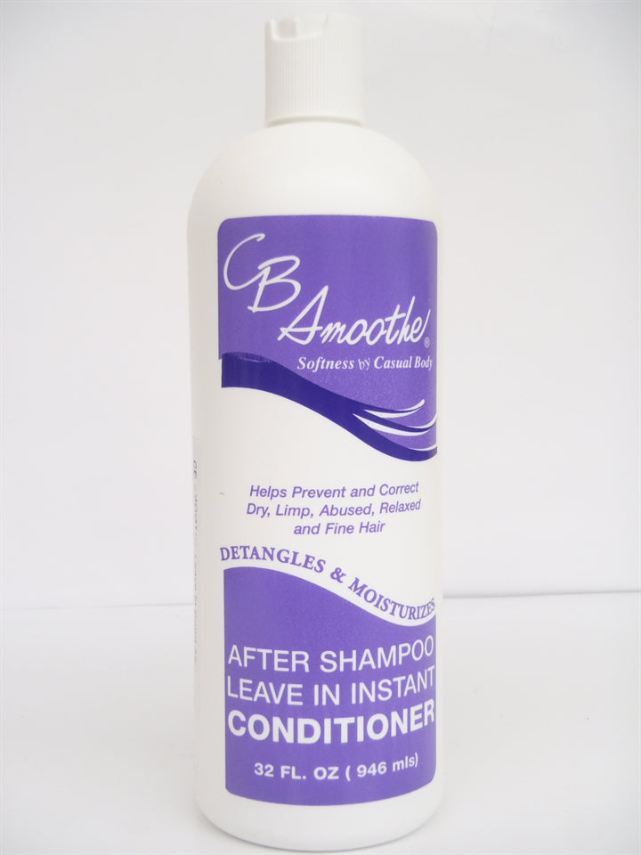 CB Smoothe After Shampoo Leave In Instant Conditioner 32oz