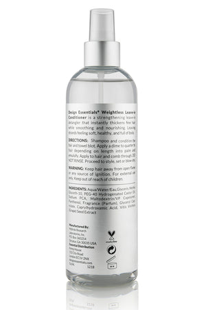 Design Essentials Platinum Weightless Leave-In Conditioner (Step 3) 12oz