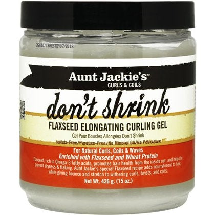 Aunt Jackie's Don't Shrink Flaxseed Curling Gel 15oz