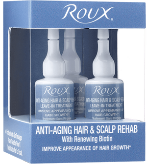 Roux Anti-Aging Hair & Scalp Rehab Leave-In Treatment 3 Pack