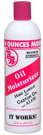 BB Oil Moisturizer Hair Lotion 12oz