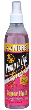 BB Pump it Up! Styling Spritz Gold 8oz