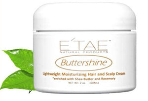 E'tae Buttershine Hair & Scalp Cream 2oz