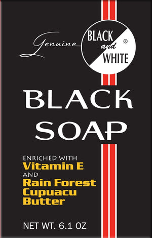 Black & White Black Soap 6oz