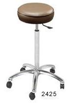 Collins 2425 Stylist's Stool Round Cushion