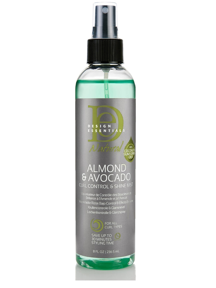 Design Essentials Almond & Avocado Curl Control & Shine Mist 8oz