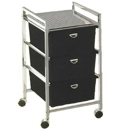 Pibbs D23 3 Drawer Metal Cart