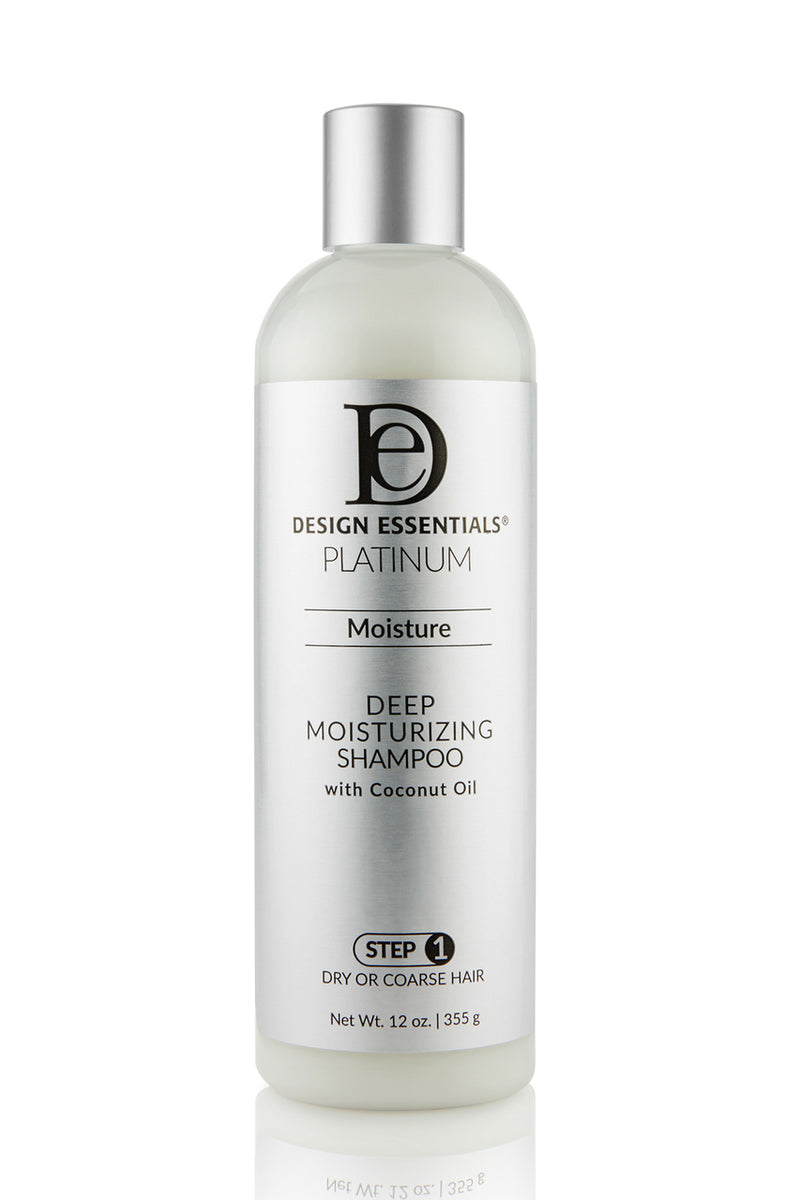 Design Essentials Platinum Deep Moisture Shampoo (Step 1) 12oz