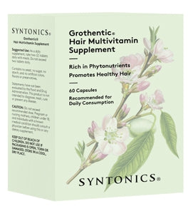 Syntonics Grothentic Hair Multivitamin (60 capsules)