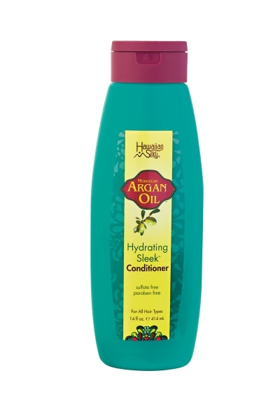 Hawaiian Silky Argan Oil Hydrating Sleek Conditioner 14oz