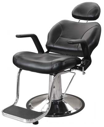 Jeffco 676BB Hickory Barber Chair