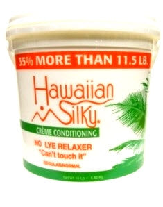 Hawaiian Silky No Base Creme Conditioning Relaxer 15lb