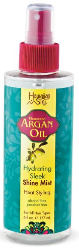Hawaiian Silky Argan Oil Hydrating Sleek Shine Mist 6oz
