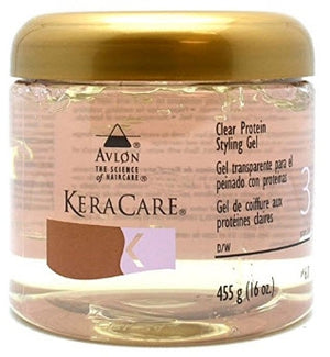 Keracare Clear Protein Styling Gel 16oz
