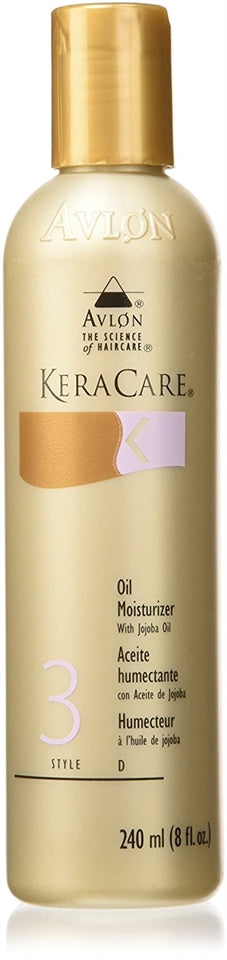 Keracare Oil Moisturizer with Jojoba Oil 8oz
