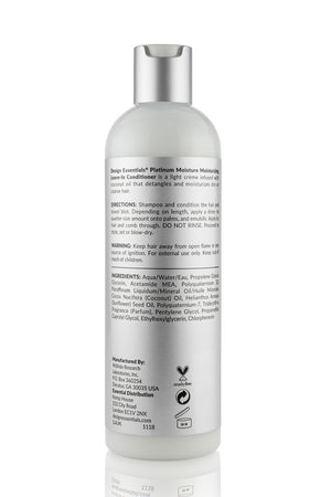 Design Essentials Platinum Moisturizing Leave-In Conditioner (Step 3) 12oz