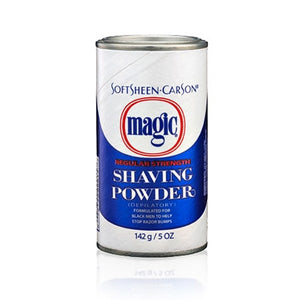 Magic Shave Shaving Powder Blue 5oz